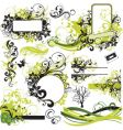Urban graphic elements pack vector