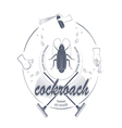 Cockroach icons vector