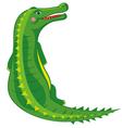 Crocodile cartoon vector