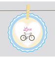 I love bicycle5 vector