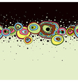 Abstract hand draw background vector