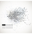 Abstract background techno style vector