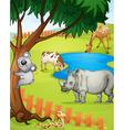 Various animals vector