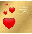 Happy valentine heart vector