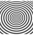 Striped black and white optical vector