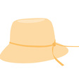 Bonnet hat vector