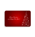 Abstract beauty christmas and new year card vector