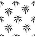 Palm tree seamless pattern vector