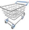 Shopping cart trolley vector