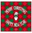 Christmas classic card design vector