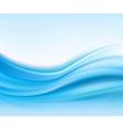 Abstract texture blue silk vector