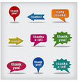 Thanks labels vector