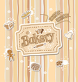 Bakery label doodle sketch vector
