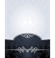 Set seamless pattern in victorian style vector