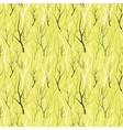 Seamless pattern with silhouette branches vector