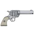 Old american handgun vector