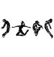 Young dancers vector