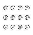 A small set of web buttons vector