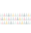 Abstract textile colorful textured triangles vector