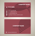 Corporate business card v 5 vector