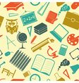 School background seamless vector