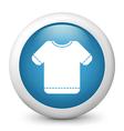 T shirt glossy icon vector