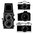 Camera vintage camera vector