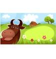 Farm card vector