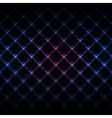 Abstract neon light black texture vector