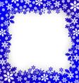 Christmas snow vector