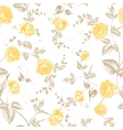 Seamless texture of pastel roses for textiles vector