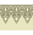 Ornamental seamless stripe decorative element vector