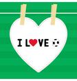 I love football9 vector