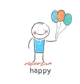 Happy vector