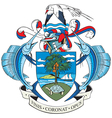Ial image of coat of arms of seychelleselles vector