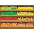 Vegetable shop vector