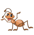 Ant cartoon vector