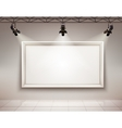 Picture frame illuminated vector