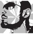Man portrait vector
