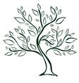 Tree design element vector