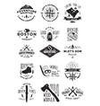 15 adventure activity badges vector