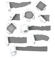 Gray paper vector