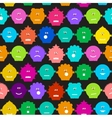 Abstract decorative funny seamless pattern vector