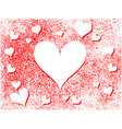 Heart holiday background vector