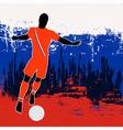 Football russia vector