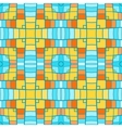 Pixel modern geometric seamless pattern ornament vector