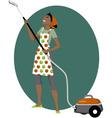Vacuum cleaning vector