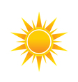 Shinny sun image logo icon vector