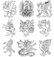 Heraldic monsters vol ii vector