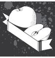 Stylish black and white logo vector